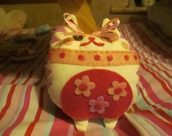 Cute Handmade Cat Toy