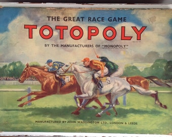 1940's Waddingtons Totopoly