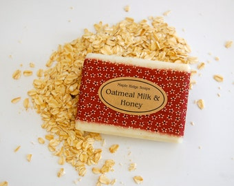 Oatmeal Milk & Honey Soap- Maple Ridge Soaps