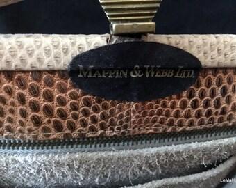 Vintage Mappin & Webb handbag