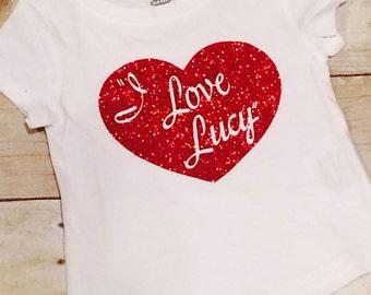 I Love Lucy Inspired Bodysuit/t-shirt
