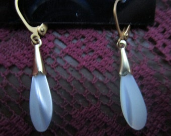 Mother of Pearl Earrings, on euro clasps!
