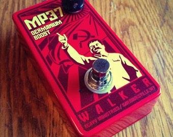 MP37 Germanium Booster custom guitar pedal