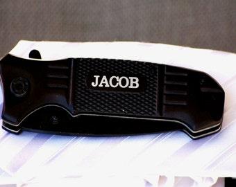 Personalized Groomsmen Gift, Groomsman Pocket Knife, Groomsmen Pocket Knives, Monogrammed Wedding Gift, Best Man, Father of the Bride, Groom