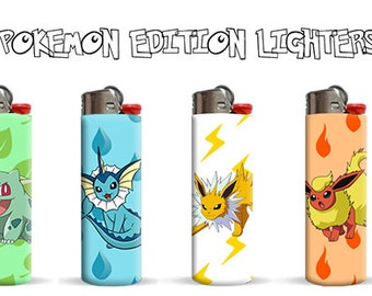 Pokemon Edition Lighters by Pic Ur Bic