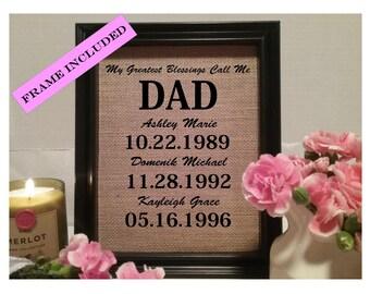 FRAMED Christmas Gift for Dad, Christmas Gift for Father, Christmas Gift, Christmas for Dad, Gift for Dad, Gift for Father, Gift for Daddy