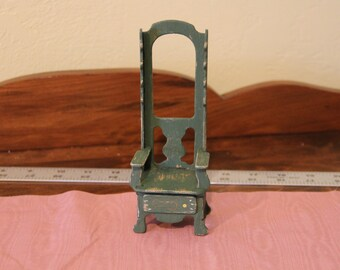 Miniature Hall Tree, Coat Rack or Chair for your Dollhouse