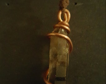 Smokey quartz pendant