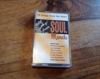 Soul Moods Music Cassette Tape Album
