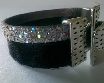 Fashion modern and unique leather bracelet