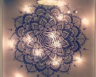 Mandala Light Box 50cm x 50cm