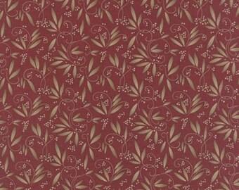 Fabric / Quilting Fabric /Town Square Crimson / 6633 19 / Moda #1/ Natural / Seasonal