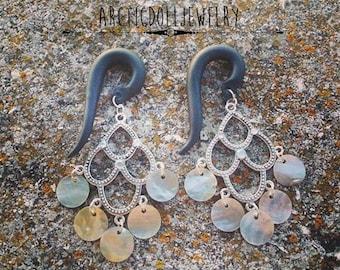 Pair of hangers of earrings Bohemian