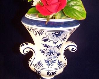 Decorative Delft Vase