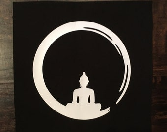 Circle Buddha Patch