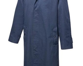 Vintage Burberry coat / navy