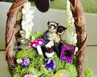 One Of A Kind Wedding Cats Fairy Garden