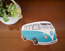 VW Camper Van Vinyl Sticker