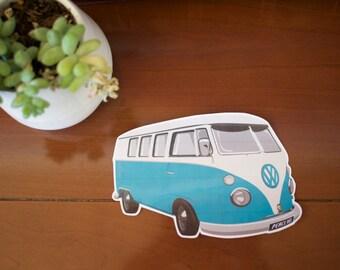 VW Camper Van Vinyl Sticker