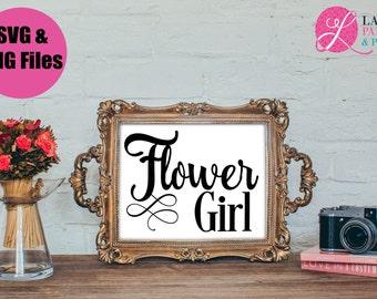 Flower Girl SVG | Wedding SVG | Bride Digital File | SVG file
