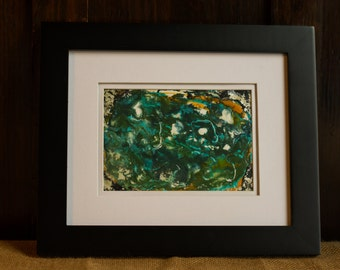 Whimsical Wax Painting #5