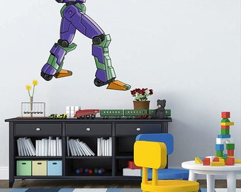 kcik1547 Full Color Wall decal cool robot arms bedroom children's room