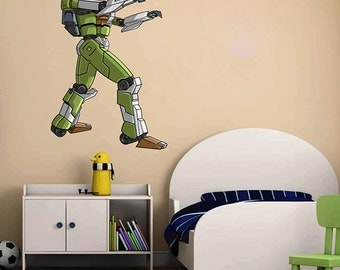 kcik1549 Full Color Wall decal cool robot arms bedroom children's room