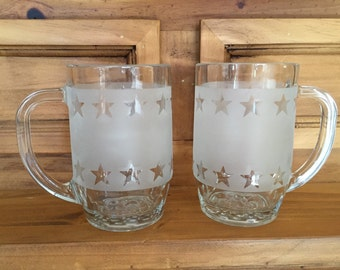 Etched Beer Mugs