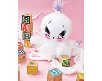 baby ghost doll by boopsiedaisy