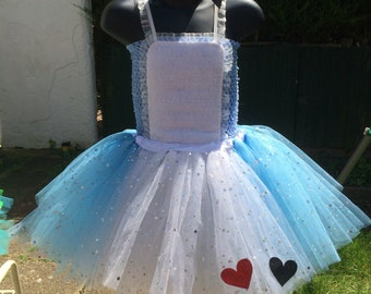 Alice in wonderland tutu, Alice tutu, Alice in Wonderland dress up, Sequin tutu, Alice tutu dress ,Alice in wonderland costume, Alice dress