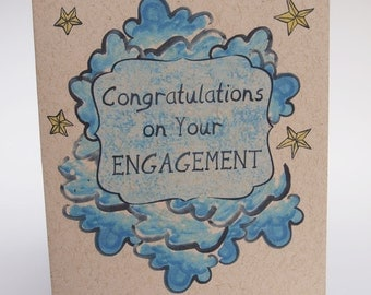 Greeting Card- Congratulations on your engagment