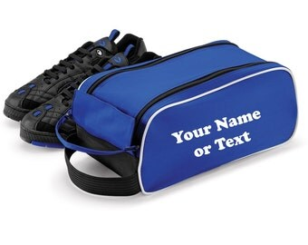 Personalised Qudra Football Boot, Ruby, Shoes Bag