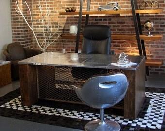 Rustic, Vintage Executive Desk