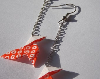 orgami earrings