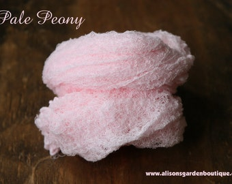 Pale Peony Cheesecloth Baby Wrap