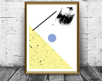 Wall Art Prints, Geometric Print, Home Decor, Abstract Art Prints, Geometric Decor, Abstract Wall Art, Abstract Art Print