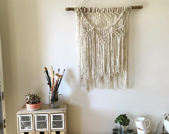 Yarn Macrame Wall Hanging