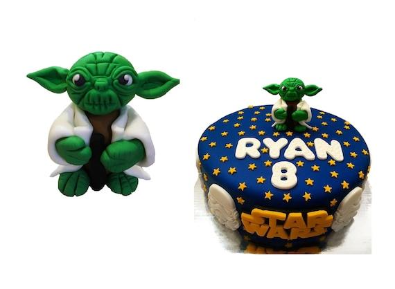 Yoda Cake Topper Birthday