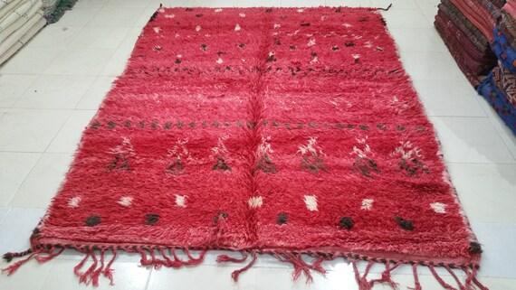 Soft moroccan beni mguild rug tapis berbère alfombras