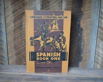 Spanish One Book from 1944