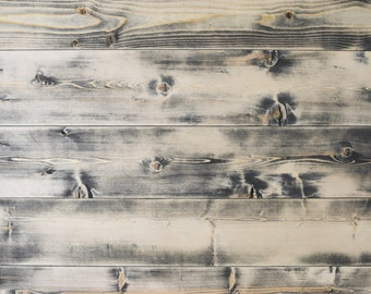 Distressed Gray Ship Lap Siding -Interior Siding