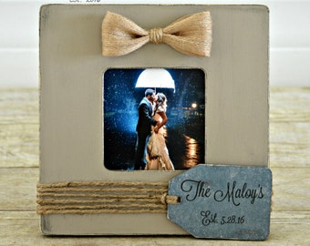 Custom Wedding Picture Frame