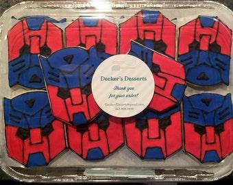 Transformers Sugar Cookies