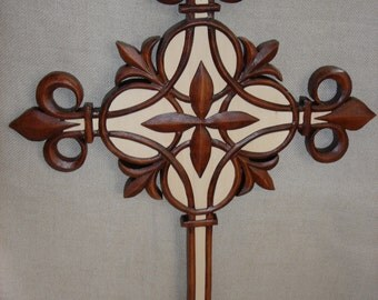 Wooden Cross  Handmade Cross  Christmas  Cross  Cross wall decor