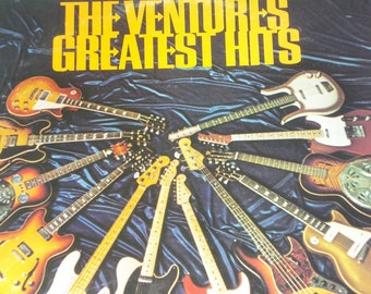 Ventures Vinyl Record, The Ventures Greatest Hits vintage vinyl records
