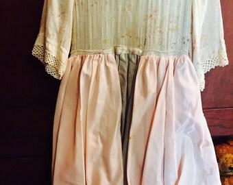 Fancy antique girls party dress