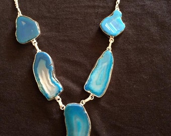 Natural Stone 5 Piece Necklaces