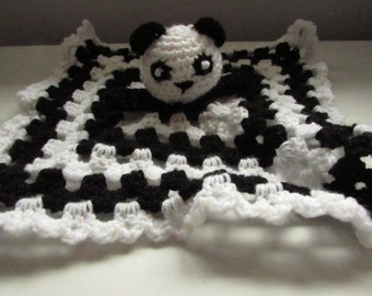 panda baby comforter