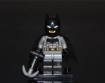 BATMAN Minifigure Lego Compatible Toy DC Comics Custom Superheroes justice league Bruce Wayne superman dark knight caped crusader detective