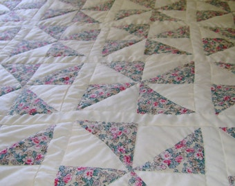 Pin Wheel quilt in a bag